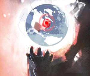 World Globe Close Up